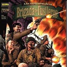 Cómics: LAS AVENTURAS DE LA BRIGADA DE FUSILEROS( DE GARTH ENNIS & CARLOS EZQUERRA,). Lote 145562324
