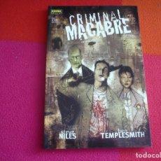Cómics: CRIMINAL MACABRE UN CASO DE CAL MCDONALD ( STEVE NILES BEN TEMPLESMITH ) ¡MUY BUEN ESTADO! NORMA. Lote 97460351