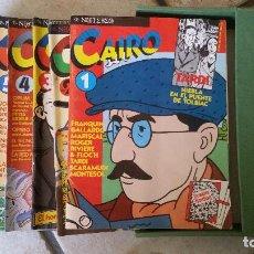 Cómics: CAIRO. 24 COMICS. DEL Nº 1 AL 24 EN 2 ESTUCHES. NORMA COMICS, BARCELONA, 1981 - 1984.. Lote 97574335
