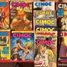 Cómics: LOTE CIMOC VARIOS CINCO FANTASÍA 22 Y 23 CIMOC PRIMAVERA 6 CÓMIC INVIERNO 4 CÓMIC ESPECIAL Y VARIOS . Lote 98067923