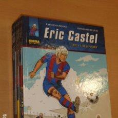 Cómics: LOTE TOMOS Nº 1 AL 8 DE ERIC CASTEL - NORMA - OFERTA. Lote 98145103