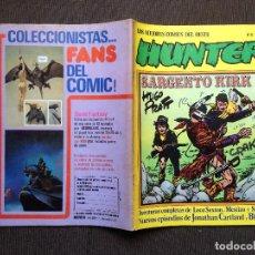 Cómics: COMIC OESTE HUNTER Nº 11 - HUGO PRATT - NORMA 1981 - BLUEBERRY - KIRK - MUY BUEN ESTADO. Lote 98169367