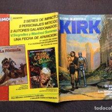Cómics: COMIC KIRK Nº 11 - HUGO PRATT - NORMA 1983 - BLUEBERRY - KIRK - MUY BUEN ESTADO. Lote 98169519