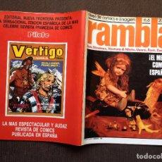 Cómics: COMIC RAMBLA Nº 6 - NORMA 1982 - MUY BUEN ESTADO. Lote 98169711