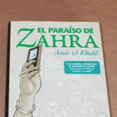 Cómics: EL PARAÍSO DE ZAHRA - NORMA ED AÑO 2011 - COMO NUEVO. Lote 98199875