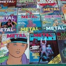 Cómics: COLECCIÓN METAL HURLANT 51 EJEMPLARES. Lote 98201367