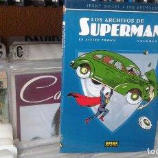 Cómics: LOS ARCHIVOS DE SUPERMAN EN ACTION COMICS. VOLUMEN I.JERRY SIEGEL NORMA. Lote 98216771
