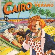 Cómics: CAIRO. Nº 52. ESPECIAL VERANO. NORMA. (B/60). Lote 98353899