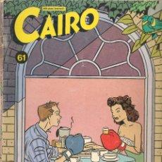 Cómics: CAIRO. Nº 61. NORMA. (B/60). Lote 98354283