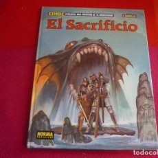 Cómics: EL MERCENARIO 12 EL SACRIFICIO ( VICENTE SEGRELLES ) ¡BUEN ESTADO! TAPA DURA NORMA. Lote 98536499