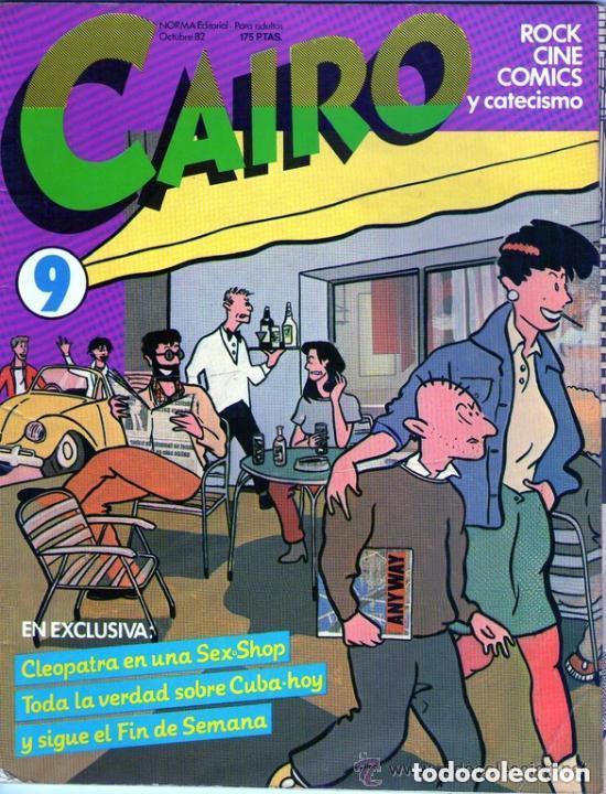 Cómics: LOTE DE 4 EJEMPLARES DE LA COLECCION CAIRO, DE EDITORIAL NORMA - PRINCIPIO AÑOS 80 - Foto 4 - 98883771