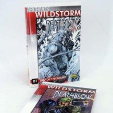 Cómics: ARCHIVOS WILDSTORM. DEATHBLOW 1 Y 2. COMPLETA (JIM LEE / CHOI / TIM SALE) NORMA, 2009. OFRT. Lote 149857296