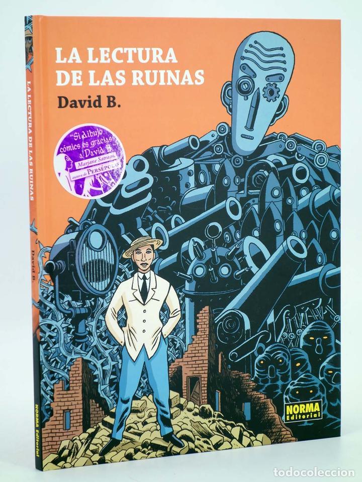 LA LECTURA DE LAS RUINAS (DAVID B.) NORMA, 2008. OFRT ANTES 19,5E (Tebeos y Comics - Norma - Comic Europeo)