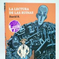 Cómics: LA LECTURA DE LAS RUINAS (DAVID B.) NORMA, 2008. OFRT ANTES 19,5E. Lote 111031616