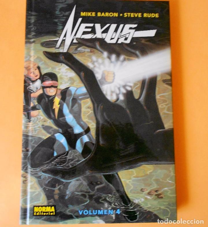 NEXUS. VOLUMEN 4. MIKE BARON & STEVE RUDE. IMPECABLE (Comics - Norma - Comic USA)
