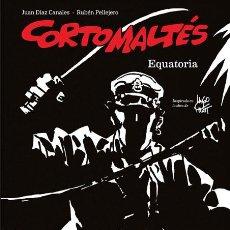Comics: CÓMICS. CORTO MALTÉS. EQUATORIA. EDICIÓN ESPECIAL BN - JUAN DÍAZ CANALES/RUBÉN PELLEJERO (CARTONÉ). Lote 99235791
