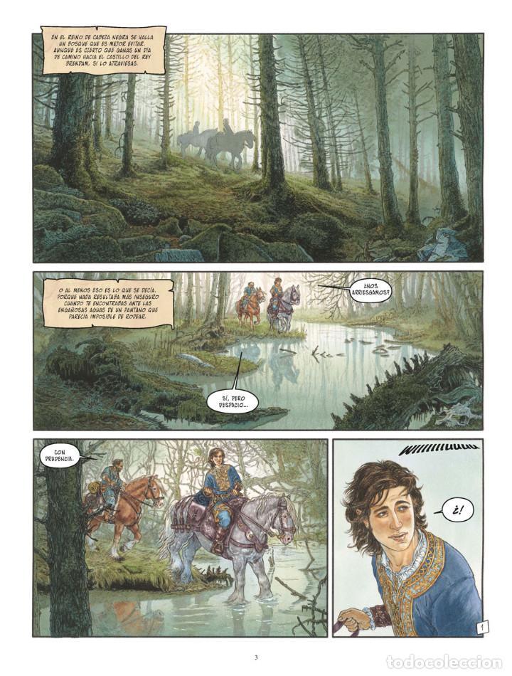 Cómics: Cómics. LA BALADA DE LAS LANDAS PERDIDAS 9. CABEZA NEGRA -Tillier/Jean Dufaux (Cartoné) - Foto 2 - 285560703
