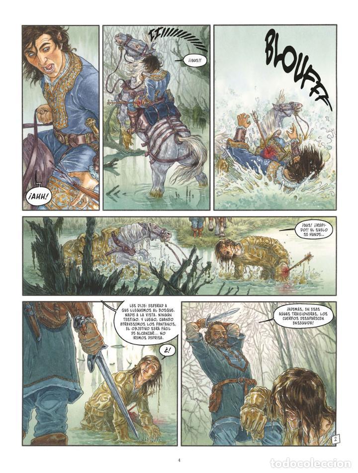 Cómics: Cómics. LA BALADA DE LAS LANDAS PERDIDAS 9. CABEZA NEGRA -Tillier/Jean Dufaux (Cartoné) - Foto 3 - 285560703