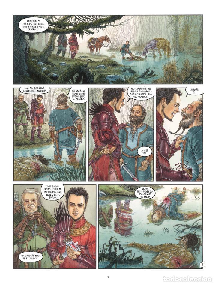 Cómics: Cómics. LA BALADA DE LAS LANDAS PERDIDAS 9. CABEZA NEGRA -Tillier/Jean Dufaux (Cartoné) - Foto 4 - 285560703
