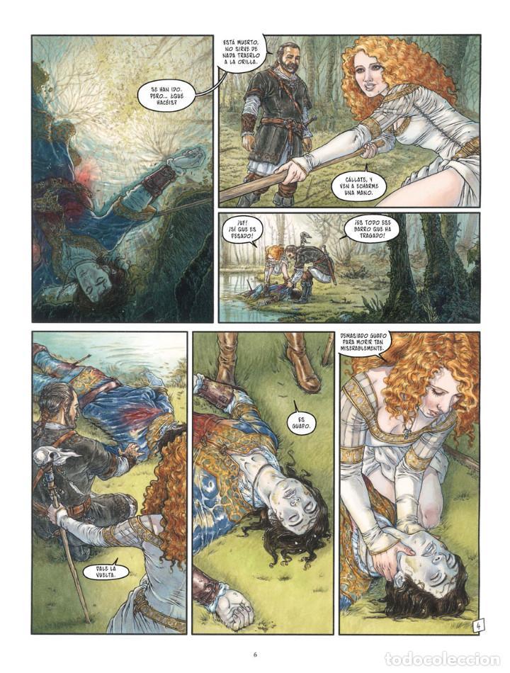 Cómics: Cómics. LA BALADA DE LAS LANDAS PERDIDAS 9. CABEZA NEGRA -Tillier/Jean Dufaux (Cartoné) - Foto 5 - 285560703