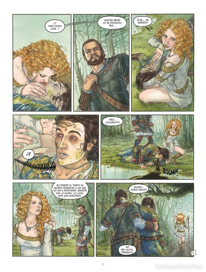 Cómics: Cómics. LA BALADA DE LAS LANDAS PERDIDAS 9. CABEZA NEGRA -Tillier/Jean Dufaux (Cartoné) - Foto 6 - 285560703