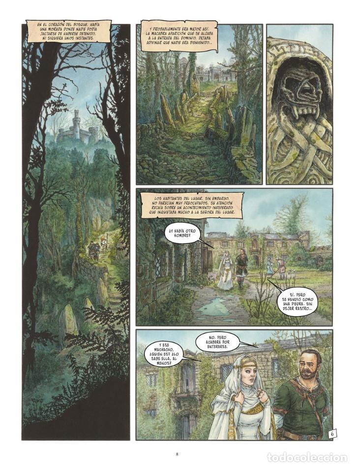 Cómics: Cómics. LA BALADA DE LAS LANDAS PERDIDAS 9. CABEZA NEGRA -Tillier/Jean Dufaux (Cartoné) - Foto 7 - 285560703