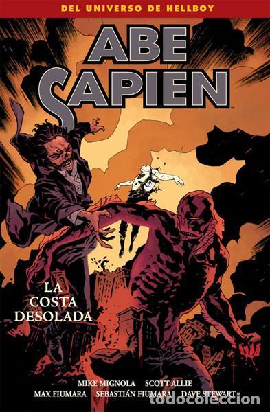 CÓMICS. ABE SAPIEN 8. LA COSTA DESOLADA - MIKE MIGNOLA/SCOTT ALLIE/MAX FIUMARA/SEBASTIAN FIUMARA (Tebeos y Comics - Norma - Comic USA)