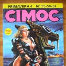Cómics: REVISTA CIMOC - RETAPADO CON LOS NÚMEROS 55-56-57. Lote 99291599