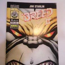 Cómics: BREED II - NUM 4 DE 6 - NORMA EDIT.- 1996. Lote 99339050
