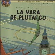 Cómics: LAS AVENTURAS DE BLAKE Y MORTIMER 23: LA VARA DE PLUTARCO, 2015, NORMA, IMPECABLE. Lote 262891945