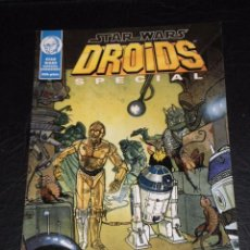 Cómics: STAR WARS - DROIDS SPECIAL - LAS AVENTURAS DE R2-D2 Y C3PO – NORMA 1996. Lote 99755479