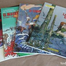 Cómics: LE TENDRE Y LOISEL LA BUSQUEDA DEL PAJARO DEL TIEMPO 1 2 3 4 COMPLETA CIMOC EXTRA COLOR 17 25 35 48. Lote 99928279