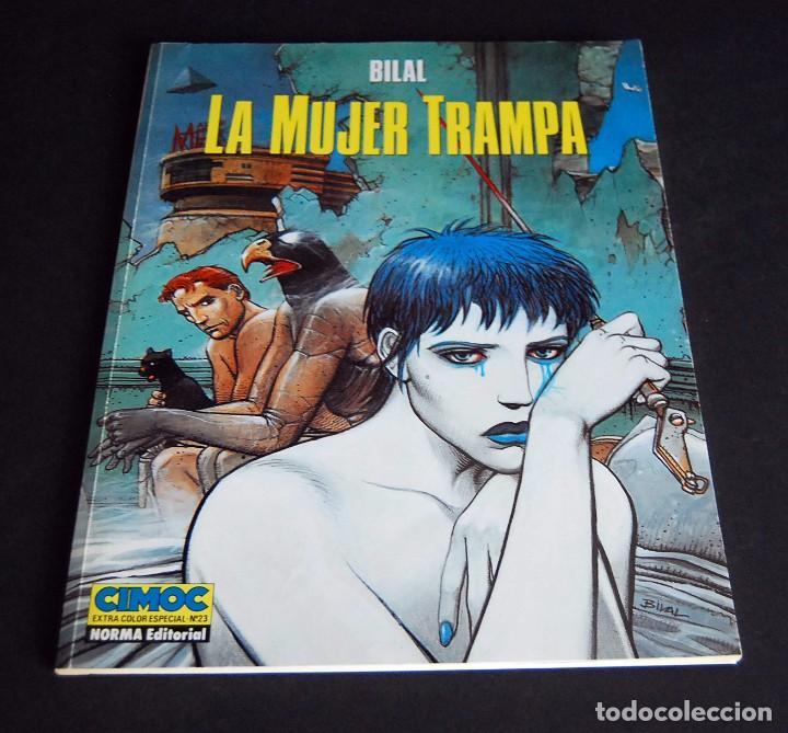 BILAL. LA MUJER TRAMPA. EXTRA - COLOR DE CIMOC Nº 23. NORMA EDITORIAL 1984 (Tebeos y Comics - Norma - Cimoc)