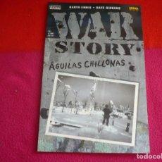 Cómics: WAR STORY AGUILAS CHILLONAS ( GARTH ENNIS DAVE GIBBONS ) ¡MUY BUEN ESTADO! VERTIGO DC NORMA. Lote 120580528