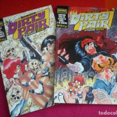 Cómics: THE DIRTY PAIR SITUACION CRITICA 1 Y 2 ( ADAM WARREN ) ¡MUY BUEN ESTADO! DC NORMA. Lote 100149655