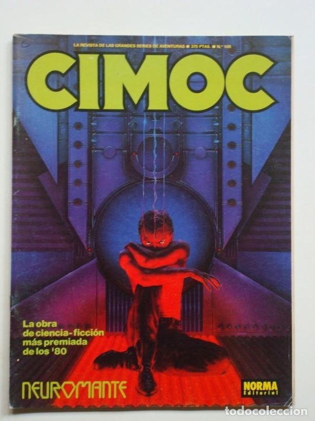 CIMOC Nº 105 NEUROMANTE (NORMA) (Tebeos y Comics - Norma - Cimoc)