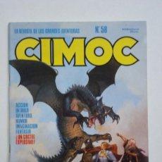 Cómics: CIMOC Nº 58 (NORMA). Lote 100566423