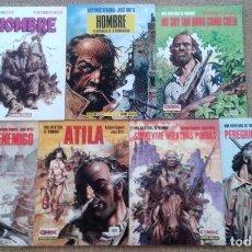 Cómics: HOMBRE DE ANTONIO SEGURA Y JOSÉ ORTIZ COMPLETA. Lote 100576159