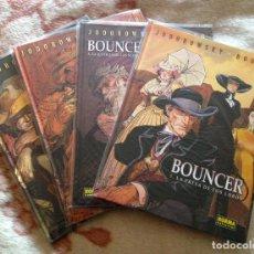 Cómics: BOUNCER. JODOROWSKY & BOUCQ. TOMOS 1, 2, 3 Y 5. . Lote 101186463