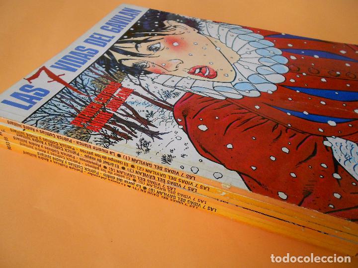 Cómics: LAS 7 VIDAS DEL GAVILÁN. PLUMA AL VIENTO. MASQUEROUGE. LOTE COMPLETO. UNA GOZADA. - Foto 8 - 101352487