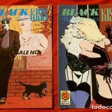 Cómics: BLACK KISS - LOTE 2 COMICS Nº 5 Y 6 - COMIC BOOKS NORMA EDITORIAL (AÑOS 90) HOWARD CHAYKIN. Lote 101412095