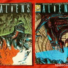 Cómics: ALIENS - LOTE 2 COMICS Nº 3 Y 4 - COMIC BOOKS NORMA EDITORIAL (AÑOS 90) SERIE NOSTROMO. Lote 101412375