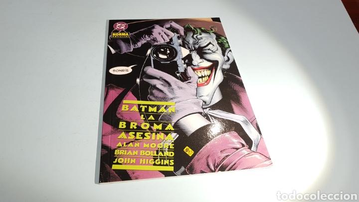 BATMAN LA BROMA ASESINA EXCELENTE ESTADO NORMA (Tebeos y Comics - Norma - Comic Europeo)