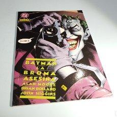 Cómics: BATMAN LA BROMA ASESINA EXCELENTE ESTADO NORMA. Lote 101441520