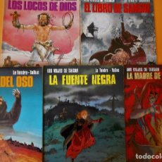 Comics - LOS VIAJES DE TAKUAN. COMPLETA . CINCO VOLÚMENES RUSTICA. MUY BUEN ESTADO. - 101442147