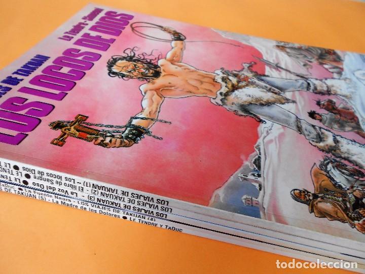 Cómics: LOS VIAJES DE TAKUAN. COMPLETA . CINCO VOLÚMENES RUSTICA. MUY BUEN ESTADO. - Foto 2 - 101442147