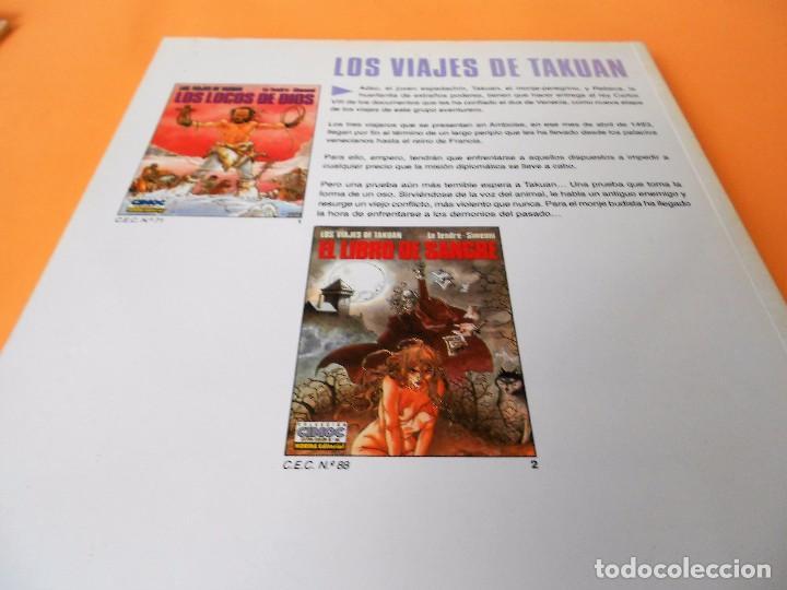 Cómics: LOS VIAJES DE TAKUAN. COMPLETA . CINCO VOLÚMENES RUSTICA. MUY BUEN ESTADO. - Foto 6 - 101442147
