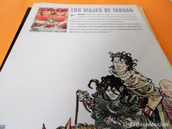 Cómics: LOS VIAJES DE TAKUAN. COMPLETA . CINCO VOLÚMENES RUSTICA. MUY BUEN ESTADO. - Foto 7 - 101442147