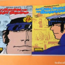 Cómics: CORTO MALTES. HUGO PRATT. NORMA 1 & 2. RUSTICA. BUEN ESTADO. PROLOGO DE UMBERTO ECO.. Lote 101444351