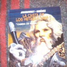 Cómics: LA CASTA DE LOS METABARONES Nº 5 - JODOROWSKY Y JIMÉNEZ - CARTONÉ. Lote 202651001